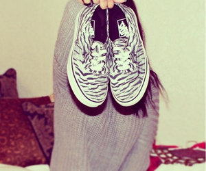 fashion, shoes, and tiger image