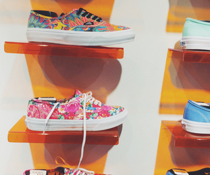 colours, vans, and love image