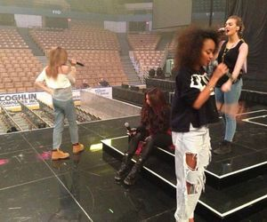 little mix, rehearsal, and salute image