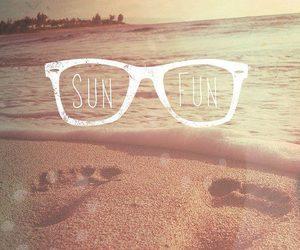 summer, fun, and beach image