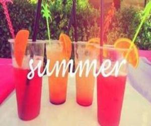 summer and drinks image