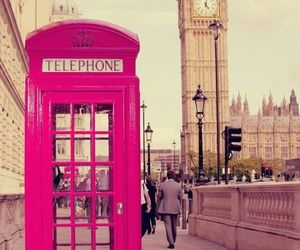 call, london, and telephone image