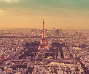 paris, eiffel tower, and city image