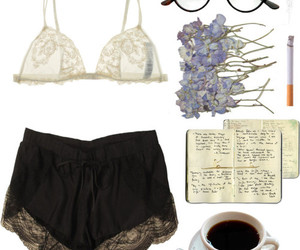 outfit, fashion, and coffee image
