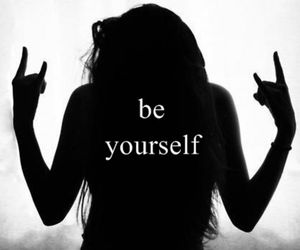 be yourself, let's escape!, and escape image