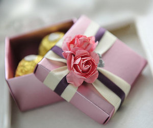 country wedding, paper goods, and pink rose image