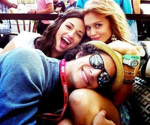 allison, crystal reed, and scott mccall image