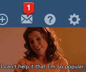 funny, popular, and mean girls image