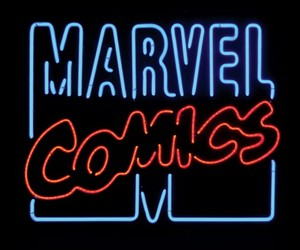 comics, Marvel, and blue image