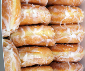 donuts and glaed donuts image