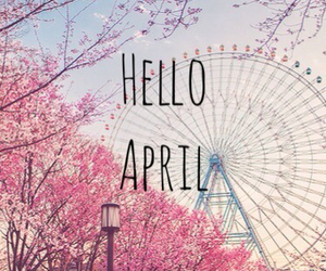 april, spring, and finally image