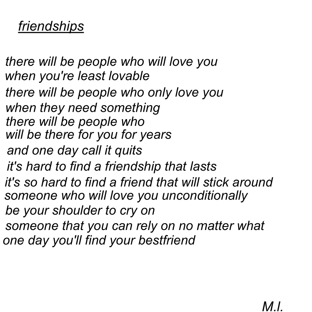 Quotes About Lost Friendships I Lost My Best Friend On We Heart It
