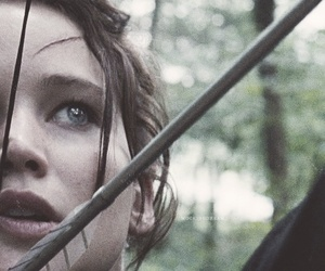 Jennifer Lawrence, the hunger games, and katiss everdeen image