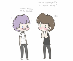 niall horan, Harry Styles, and lilac niall image