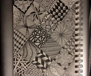 art, zentangle, and beautiful image