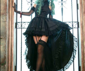 cosplay and green hair image