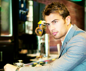 theo, divergent, and theo james image