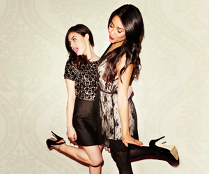 dress, aria, and lucy hale image