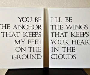 anchor, wings, and love image