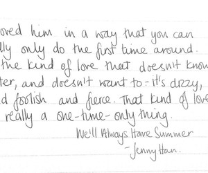 quote, jenny han, and we'll always have summer image