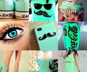 dress, green, and eyes image