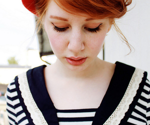 girl, beautiful, and ginger image