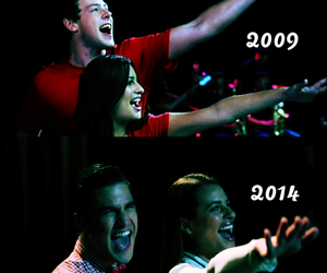 glee, finn, and 2009 image