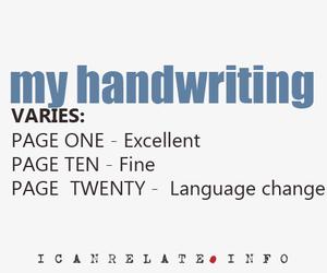handwriting image
