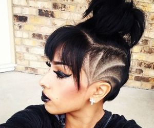 hair, dope, and style image