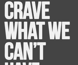 quote, crave, and text image
