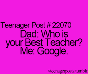 google, quote, and teenager post image