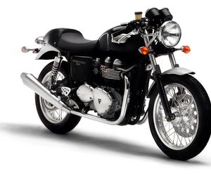 beautiful, motorbike, and black image