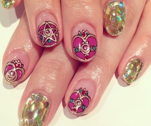 nails and sailor moon image