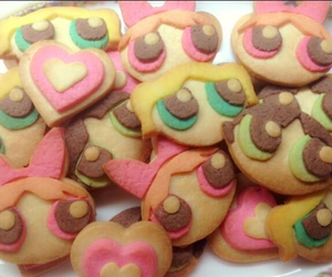 food, Cookies, and power puff girls image