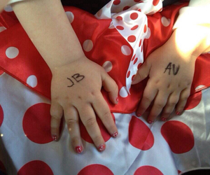 avalanna, justin bieber, and JB image