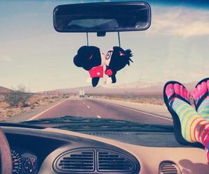 car, sweet, and colorful image