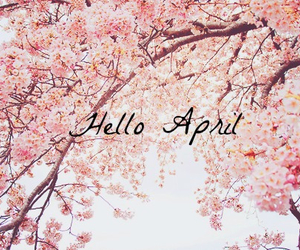 spring and hello april image