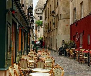 paris, cafe, and travel image