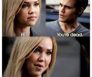 the vampire diaries, tvd, and lexi image