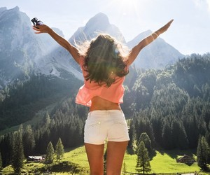 freedom and mountains image