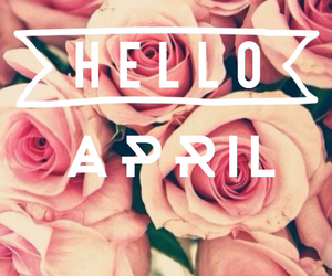 april, flower, and girly image