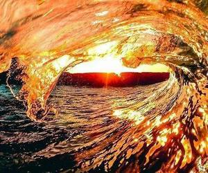 awesome, beach, and light image