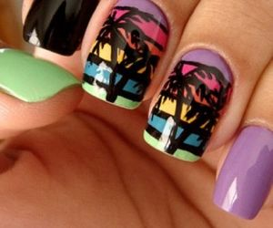 color, nails, and Island image
