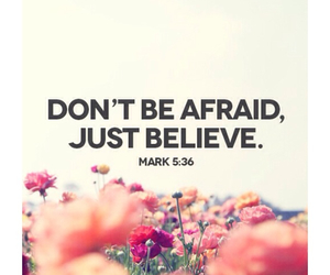 quote, believe, and bible image