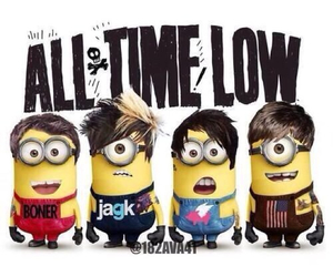 all time low, minions, and jack barakat image