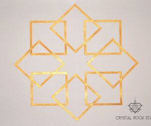 cube, sacred geometry, and root chakra image