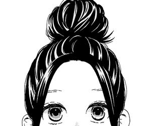anime, hair, and manga image
