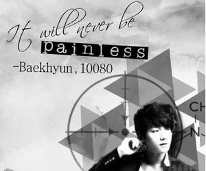black and white, exo, and fanfic image