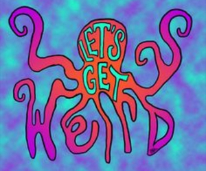 weird and octopus image