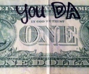 rihanna, dollar, and money image